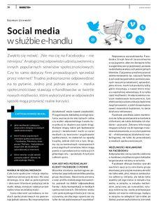 Social media w służbie e handlu – czy e-commerce i media społecznościowe idą ze sobą w parze?