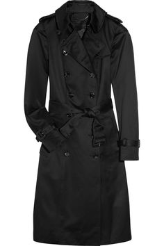 Burberry Prorsum | Cotton-sateen trench coat | NET-A-PORTER.COM