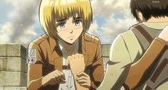 Cute Eren Jaeger Armin arlelt shingeki no kyojin Attack on titan Eren X Armin, Eren And Mikasa, Attack On Titan, Top 10 Best Anime, Danshi Koukousei No Nichijou, Aot Funny, Eruri, Anime Japan, Me Me Me Anime