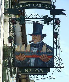 2009-03-20 Brighton Great Eastern Pub Sign