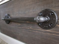 KrisKraft: Industrial-Look Drawer Pull - wonder if there are mini versions for kitchen cabinet