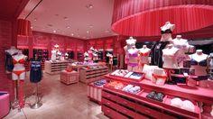 LINGERIE STORES! Victorias Secret store by GRADE, Kuwait store design