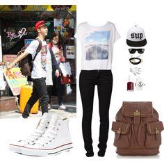 B.A.P Yongguk Street Fashion Inspired Outfit