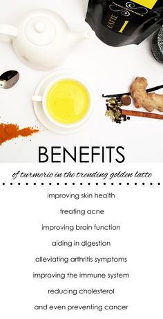 Health Benefits of Turmeric - The Golden Milk Latte Or Turmeric Latte not only tastes great, but it is full of nutrients, antioxidants, and delicious warming flavors. It is also a healthy alternative to coffee and other caffeinated beverages. www.thegoldennumber.etsy.com #cleaneating #goldenmilk #healthy