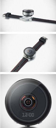 Beoncam Is A Wrist Watch That's Also A Removable 360-degree Camera