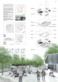 Environmental Architecture, Architecture Collage, Architecture Board, Architecture Portfolio, Environmental Design, School Architecture, Architecture Presentation Board, Presentation Layout, Planer Layout