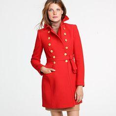 I love J.Crew's coats!