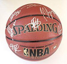 Cleveland Cavaliers Cavs 2015-16 Team Autographed Signed Spalding NBA Basketball PAAS COA Lebron Kyrie Love