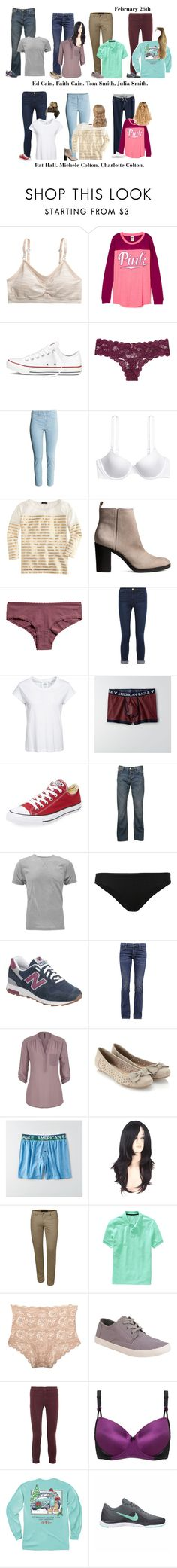 """""""Autumn's Baby Shower"""" by our-poly-friends ❤ liked on Polyvore featuring Converse, Victoria's Secret, J.Crew, Frame, Cheap Monday, American Eagle Outfitters, Paul Smith, ONIA, New Balance and Citizens of Humanity"""