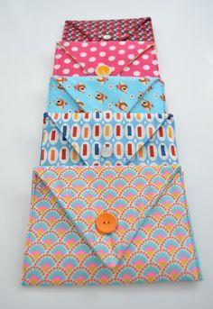 Envelope fabric - Dutch tutorial (free) Stoffen omslag - Nederlandse tutorial (gratis) Enveloppe en tissu - Tutorial en Néerlandais (gratuit)
