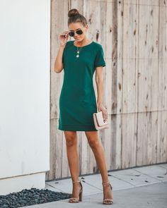 943dcacfd4fd Last Romance Dress - Hunter Green - FINAL SALE