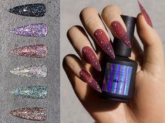 Nail Polish Supplies, Uv Nail Polish, Uv Gel Nails, Gel Nail Art, Cross Nails, Diy Your Nails, Nail Art At Home, Colorful Nail Art, Nail Supply