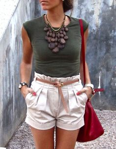 This outfit is to die for, from top to bottom
