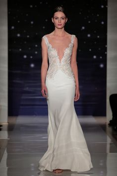 Pin for Later: 80 Must-See Wedding Dresses From Bridal Fashion Week Spring 2016 Reem Acra Bridal Spring/Summer 2016