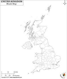United Kingdom : free map, free blank map, free outline