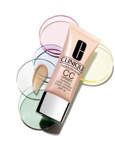 Clinique's Moisture Surge CC Cream SPF 30 Hydrating Colour Corrector Cream Cc Cream, Skin Cream, Clinique Happy, Skin Makeup, Beauty Makeup, Pele Natural, Clinique Moisture Surge, Clinique Makeup, Clinique Cosmetics