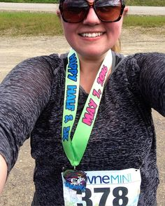 Today I ran and mostly walked but got it done!!  #ididitforthemedal #funday