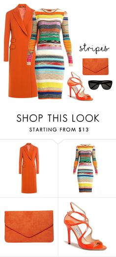 """""""Untitled #1003"""" by alison-tann ❤ liked on Polyvore featuring Maison Margiela, Missoni, Dorothy Perkins, Jimmy Choo and Yves Saint Laurent"""