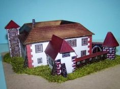 Tvrz in South Bohemia Free Building Paper Model Download