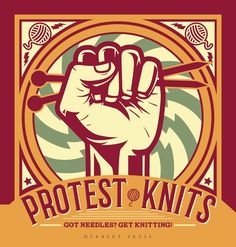 Buy Protest Knits by Geraldine Warner at Mighty Ape NZ. No Way Crochet is the book for you. From pussy hats to protest scarfs and voodoo dolls to seriously stylish sweaters. Make your point with a crochet . Knitting Needles, Hand Knitting, Textile Museum, How To Start Knitting, Yarn Bombing, Knitting Videos, Book Images, Pin Cushions, Handicraft