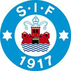 Silkeborg Idrætsforening (Silkeborg IF/SIF) | Country: Danmark / Denmark. País: Dinamarca | Founded/Fundado: 1917/04/26 | Badge/Crest/Logo/Escudo.