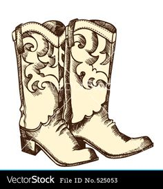 fdd1ad61ad5 Free Cowboy boot hand Embroidery Design