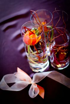 we love these kind of centerpieces!