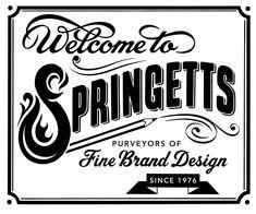 Alison Carmichael lettering (Springetts)