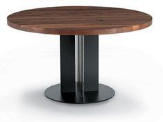 Table ronde en bois NATURA Collection Natura by Riva 1920 | design Maurizio Riva, Davide Riva