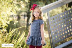 Vestido lunares para niña ya disponible en http://aianalarocca.com/ #modainfantil