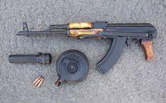 Armas AK-47 Rifle  Papel de Parede