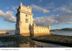 Belem Tower in Lisbon - monument to past times, the brave nation and its Great Discoveries literally all over the world   #Lisbon #architecture #Belem #tower #photography #art #view #sky #travel #Portugal