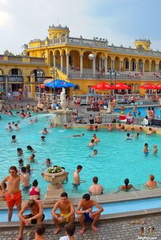 Széchenyi Thermal Baths, Budapest: http://bbqboy.net/one-month-budapest-experiences-impressions-date/