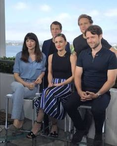 Here are new pics of the cast of Outlander at SDCC – Day 3 See more after the jump