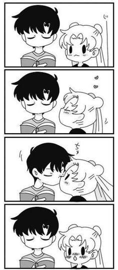 cute kawaii sailor moon tuxedo mask Tuxedo Kamen usagi x mamoru Sailor Moon Crystal