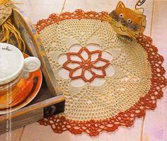 Tecendo Artes em Crochet: Toalhinha Linda com Gráfico!