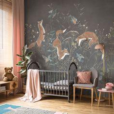 Baby Bedroom, Baby Room Decor, Nursery Room, Dream Bedroom, Girls Bedroom, Woodland Nursery Decor, Big Girl Rooms, Cool Rooms, Kids Room