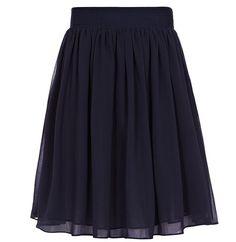 Mason Navy Flared Skirt from Reiss