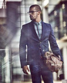 navy suit #gent