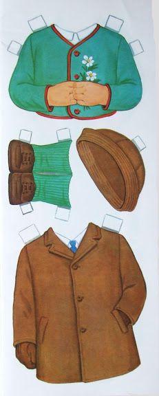 Paper Dolls~Schoolboy Doll - Bonnie Jones - Picasa Webalbum