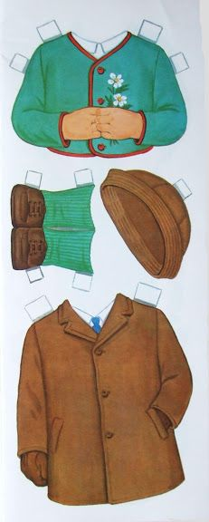 Paper Dolls~Schoolboy Doll - Bonnie Jones - Picasa Webalbum