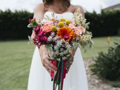 Cómo elegir el ramo de novia: ¡Descubre el significado de los colores y las…