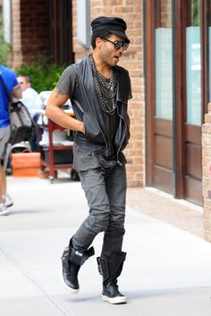 Could Lenny Kravitz be any cooler?