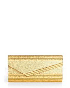 Modcloth- Gold Habits Clutch
