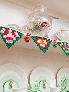 Crochet - A Granny Square Christmas Crochet - #871610