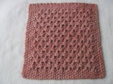 Free Knitting Pattern - Dishclothes & Washcloths : Blackberry Cloth