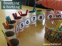 Number and Counting Activities for kids - learning4kids