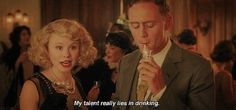 Zelda Fitzgerald in Woody Allen's Midnight in Paris. I've always felt a strong connection with Zelda... Now I know why!