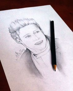 Niall Horan's picture. Done with a simple pencil.