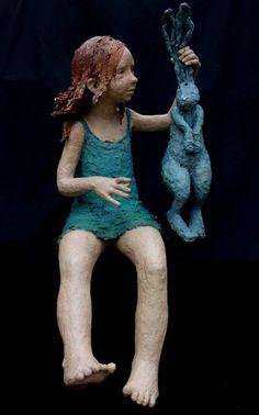 #art #sculpture Jurga Martin http://www.spymyart.com